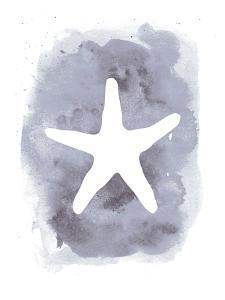 Watercolor Gray Starfish by Jetty Printables