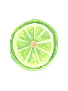 Watercolor Lime Slice by Jetty Printables