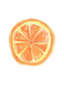 Watercolor Orange Slice by Jetty Printables