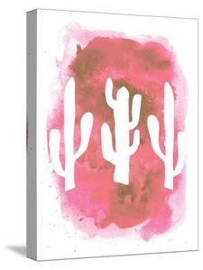 Watercolor Pink Cactus by Jetty Printables