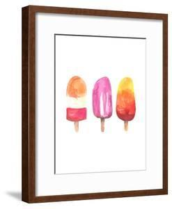 Watercolor Popsicle Trio by Jetty Printables