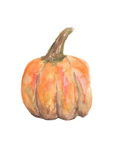 Watercolor Pumpkin by Jetty Printables