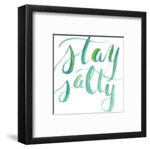 Watercolor Stay Salty Art by Jetty Printables