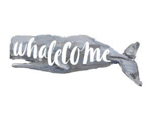 Whalecome Sign by Jetty Printables
