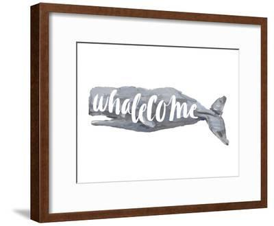 Whalecome Sign