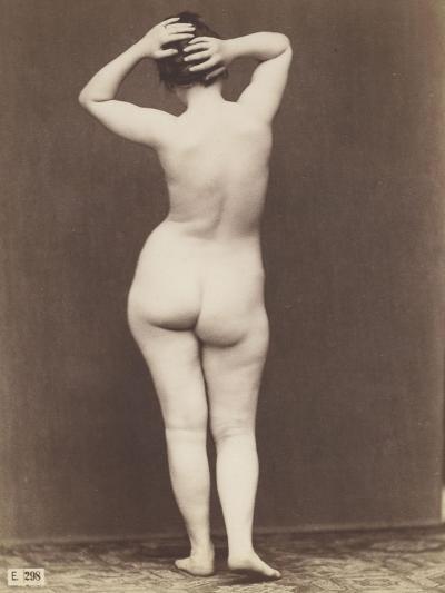 Femme Nue De Dos jeune femme nue debout, de dos giclee printjean-louis igout