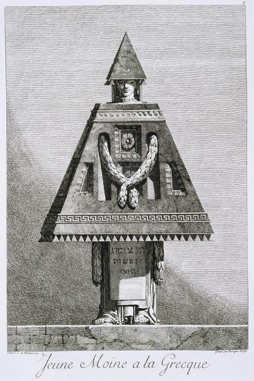 Jeune Moine a La Greque-Ennemond Alexandre Petitot-Giclee Print