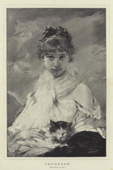 Jeunesse-Charles Joshua Chaplin-Giclee Print