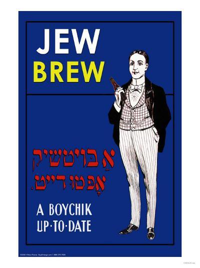 Jew Brew Beer--Art Print