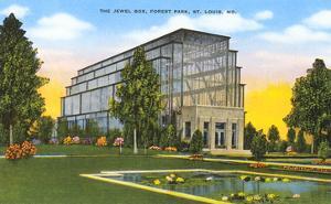 Jewel Box, Forest Park, St. Louis