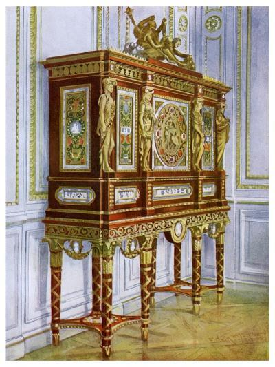 Jewel Cabinet of Marie Antoinette, Versailles, France, 1911-1912-Edwin Foley-Giclee Print