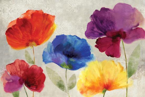 Jewel Florals-Anna Polanski-Art Print