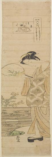 Jewel River of Noji, Mid 18th Century-Suzuki Harunobu-Giclee Print