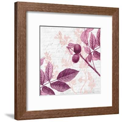 Jeweled Branches 3-Kimberly Allen-Framed Art Print