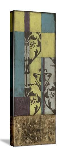 Jeweled Transom V-Jennifer Goldberger-Stretched Canvas Print