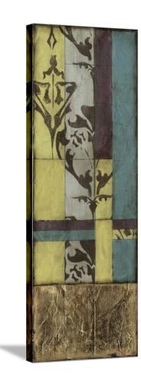 Jeweled Transom VI-Jennifer Goldberger-Stretched Canvas Print