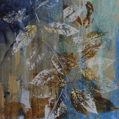Jewelled Leaves XII-Hollack-Giclee Print