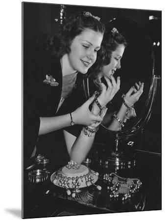 Jewelry Fanatic--Mounted Photo