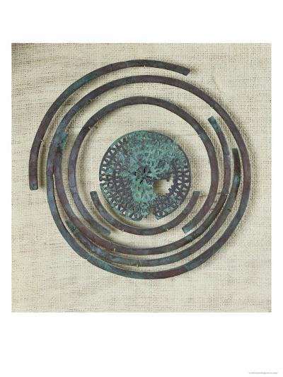 Jewelry Known as the Bouclier de Pudeur, Cassard Tumulus at Flagey, Hallstatt Civilisation- Gaulish-Giclee Print