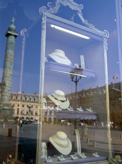 Jewelry Store, Place Vendome, Paris, France--Photographic Print