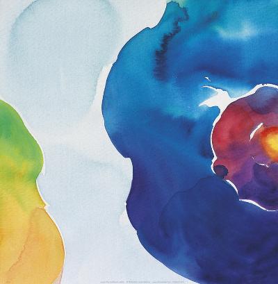Jewels, Blue-Deborah LaMotte-Art Print