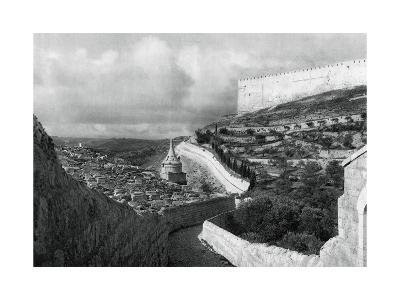 Jewish Burial Places Near the Wall of Jerusalem, 1937-Martin Hurlimann-Giclee Print