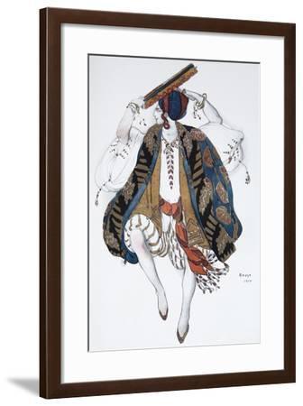 Jewish Dance. Costume Design for the Ballet Cléopatre, 1910-L?on Bakst-Framed Giclee Print