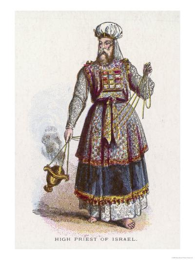 Jewish High Priest in His Ceremonial Garb--Giclee Print