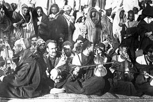 Jewish Musicians in Morocco, c.1900
