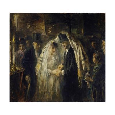 Jewish Wedding, 1903-Jozef Israels-Giclee Print