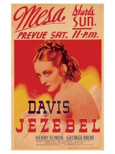 Jezebel, 1938--Art Print
