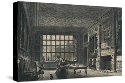 The Elizabethan Room, Coombe Abbey, Warwickshire, 1915