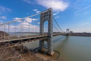 George Washington Bridge by jgorzynik