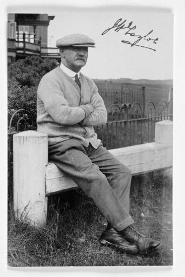 JH Taylor (1871-1963), five times Open champion, c1940-Unknown-Giclee Print