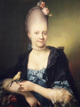 Portrait of Sophie Charlotte De Thygesen, 1771