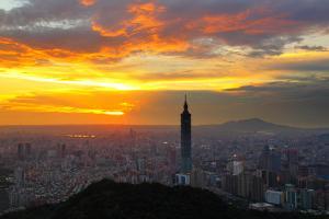 Sunset in Metropolitan by jhhuang
