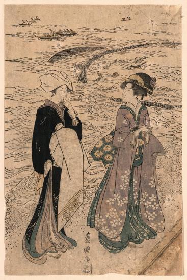 Jibukiami-Utagawa Toyokuni-Giclee Print