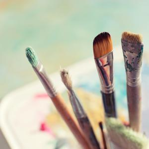 Paint Brushes by Jill Ferry Photography