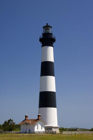Bodie Island Lighthouse in the Outer Banks of North Carolina by Jill Lang
