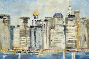 Waterfront Skyline by Jill Martin