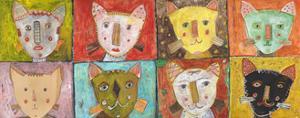 8 Cats by Jill Mayberg