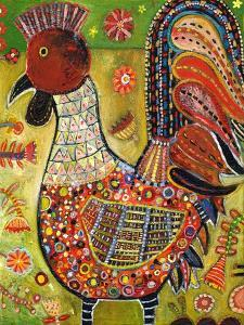 Olive Rooster by Jill Mayberg