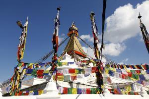Boudhanath Stupa, the Largest Stupa in Nepal by Jill Schneider