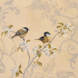 Chickadee and Pear by Jill Schultz McGannon