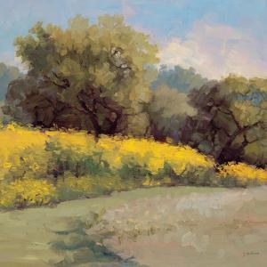 Plein Air Lavender and Yellow by Jill Schultz McGannon