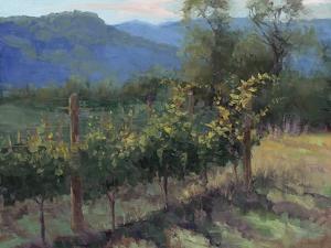 Vineyard On The Hill by Jill Schultz McGannon