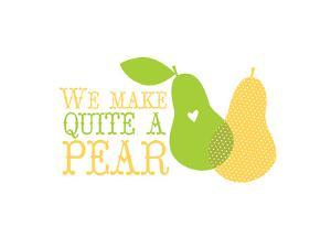 Fruit_pear by Jilly Jack Designs