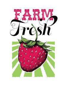 Fruit_strawberry by Jilly Jack Designs