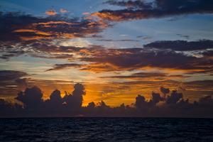 Sunrise over the Atlantic Ocean by Jim Abernethy