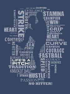Baseball Words by Jim Baldwin